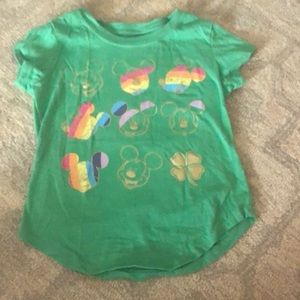 Girls St Pattys T-shirt